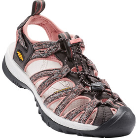 Keen Whisper Sandals Women Raven/Rose Dawn